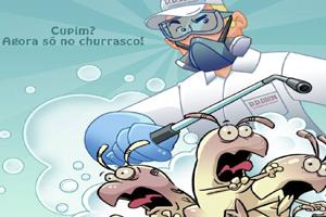 CUPIM AGORA SÓ NO CHURRASCO!